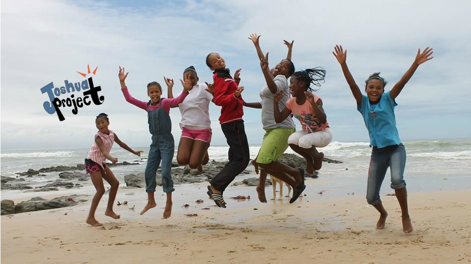 Joshua Project kids jumping for joy