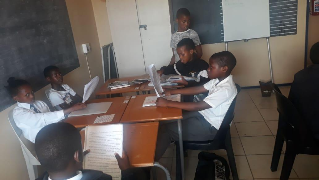 Children Doing Their Homework At Joshua Project
