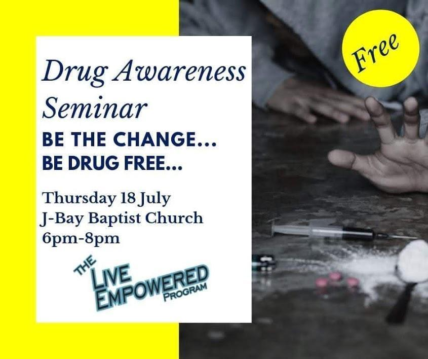 Drug Awareness Seminar Poster