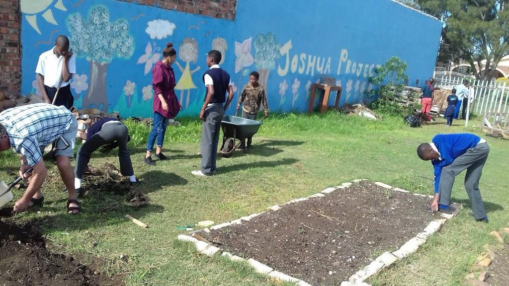Kids Gardening At Joshua Project