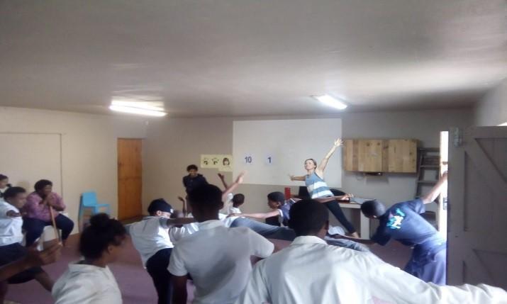 Kids Having Fun In Class