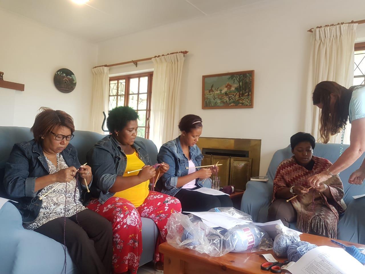 Knitting At Joshua Project