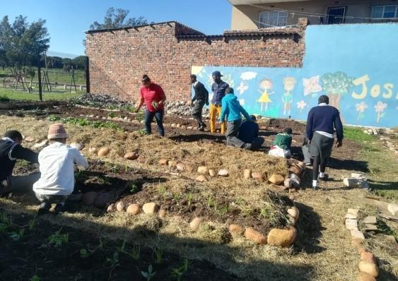 Learning Gardening At Joshua Project