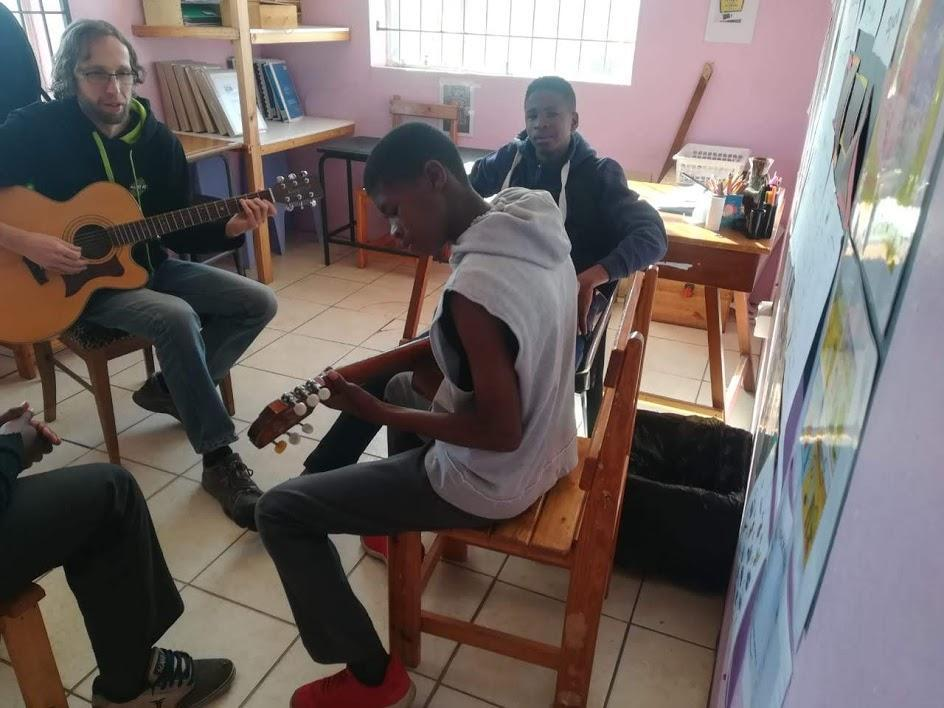 Learning Guitar At Joshua Project