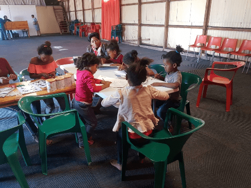 Little Kids Having Fun At Joshua Project
