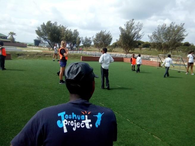 Playing Soccer At Joshua Project