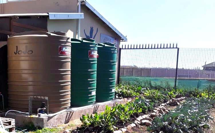 The Water Tanks We Received In 2018 Has Been A Major Blessing To Our Garden